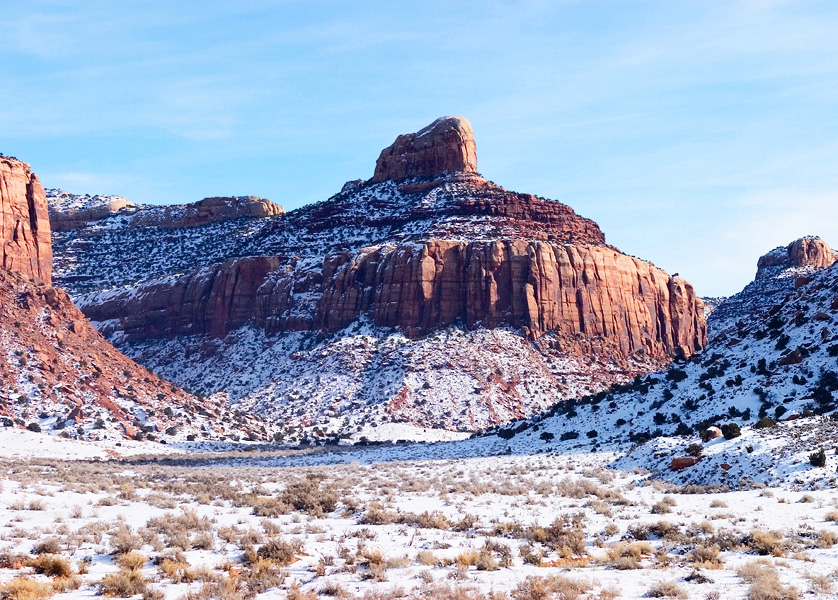 Winter in Canyon Lands